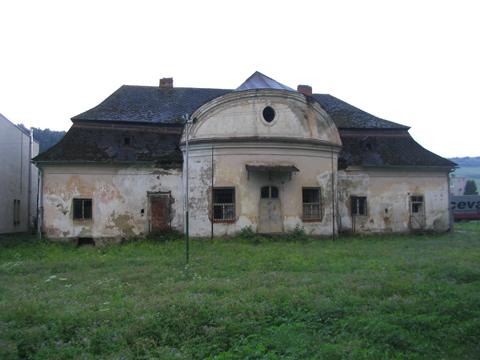 Chminianska nová ves (szinyeújfalu), szinyei merse-kastély